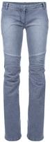 BALMAIN Flare biker jeans