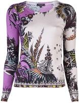 ETRO Rose print sweater