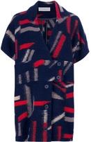 CACHAREL graphic pattern coat