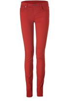 Helmut Lang Pantalon moulant rouge 5