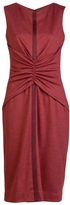 CAROLINA HERRERA Rouched waist dress