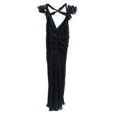 Cacharel Black Cocktail Dress, 3/4 Le