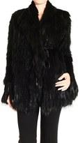 Gucci Fox And Beaver Fur Lapin