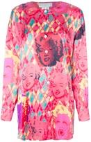 ESCADA VINTAGE Marilyn print blouse