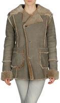 DIESEL Manteau en cuir