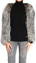 Gucci Silver Fox Fur Bolero