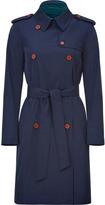 Missoni M Trench-coat bleu marine