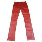 Chanel  Jeans Rouge