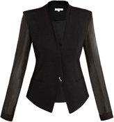 Helmut Lang Silk sleeve jacket