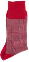 Comme Des Garçons Check pattern socks