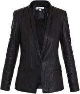 Helmut Lang Baby matte leather jacket