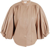 Chloe Soft leather pleated jacket