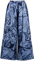JEAN-PAUL LESPAGNARD brocade trouser