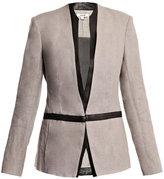 Helmut Lang Brushed linen jacket