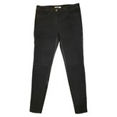 Givenchy Pantalon Slim Daim Et Cuir