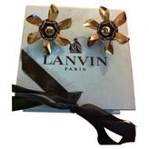 Lanvin Boucles En Cristal Et Perle