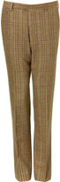Etro Pantalon multi carreaux marron