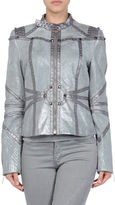 JUST CAVALLI Manteau en cuir