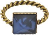 ISABEL MARANT Bague avec pierre bleue