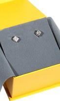 Fendi Rhine Stone Dice Logo Earring